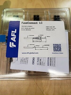 FuseConnect LC2SMU-6  Qty All 10 packs