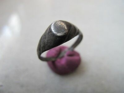 Antique Late Medieval Silver Ring