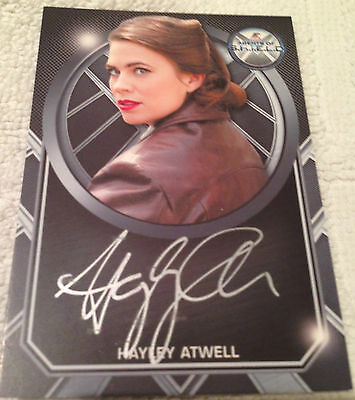 Agents of Shield Season 2 Archive Box Exclusive Autograph Card Hayley Atwell