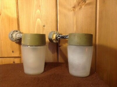 Vintage Exterior Lights (not Coughtrie) Retro Industrial, PAIR of, by Thorn