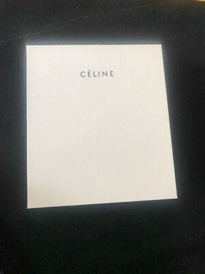 Authentic Celine gift Box With Both Sides Foam With Paper Inside