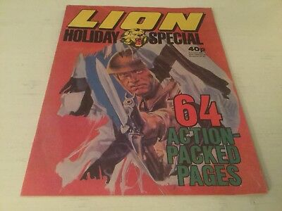Lion Summer Special 1979 - Holiday Action - Fleetway - Vfc+++ If Not Better,