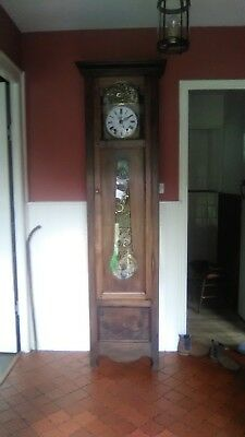antique french comtoise clock