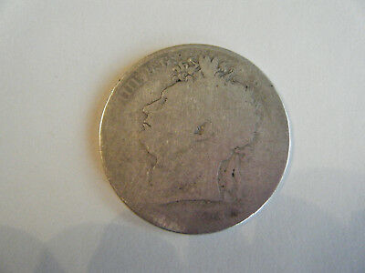 1821 George IV Milled Silver Half Crown coin