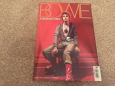 David Bowie - A Life In Pictures - Rare Magazine - Uncut Magazine - Like New