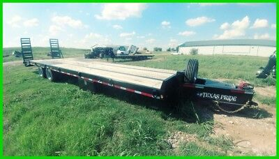 2018 Texas Pride FT83845KGN 30+5 With Ramps Pinal Hitch Air Brakes