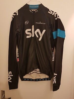 maillot cycliste vélo ROWE team issue SKY tour france cycling jersey radtrikot