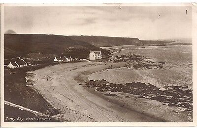 Very Nice Old Postcard - Canty Bay - North Berwick - East Lothian 1914