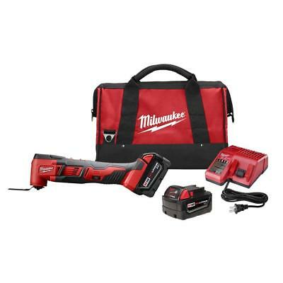 Milwaukee 2626-22 M18 18-Volt Lithium-Ion Multi-Tool w/ 2 Batteries and Bag**