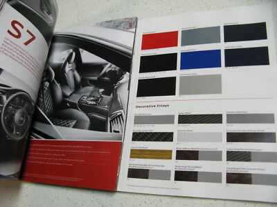 Audi Sport 2013 R8 / RS / S / Book- Sales Brochure. All Performance Models 78pgs