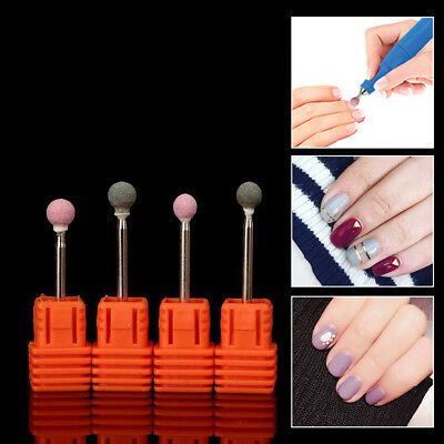 FJ- EG_ HK- Electric Drill Bit Machine Grinding Head DIY Nail Art Decor Nursing