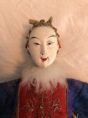 """Fine Antique Chinese Opera Doll 10"""" - early 20th C."""
