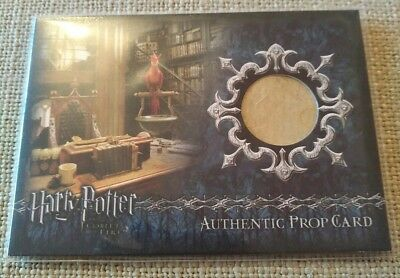 Harry Potter Goblet of Fire Books Prop Card P3 337/350