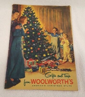 Rare 1955 WOOLWORTHS CHRISTMAS GIFT & TOY CATALOG