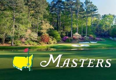 2019 Masters Grounds Badge - Wednesday Golf Tickets w/ Par 3 Contest - Augusta