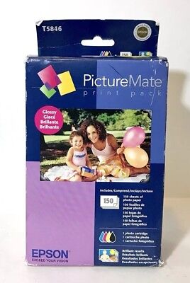 Epson T5846 PictureMate Print Pack - Glossy, Free Shipping