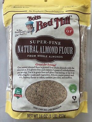 Bob's Red Mill Grain & Gluten Free Baking Super-Fine Natural Almond Flour, 16 oz