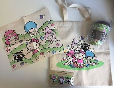 Sanrio Loot Crate Exclusive Hello Kitty Chococat My Melody Naturally Cute 2018