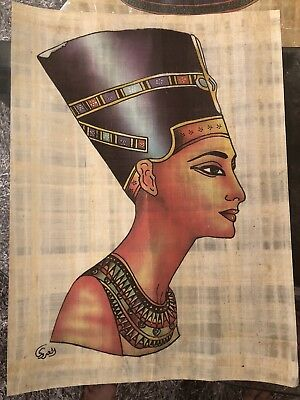 Egyptian Genuine Papyrus, Ancient Egypt paper, hand made wall paper 23 Pieces