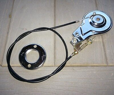 Cobra VII gas scooter PHB 70 apse 70 Premium Bonded Front Band Brake & cable