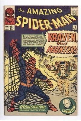 Amazing Spider-Man 15 - 1st Kraven - Movie In Works- Option to Buy COMIC-Con Tic