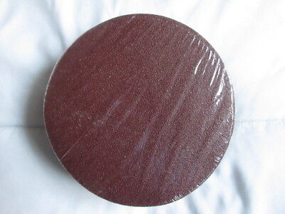 "50 pieces 80 Grit Pads 6"" Diameter Sanding Discs - Sandpaper - IIT Co."