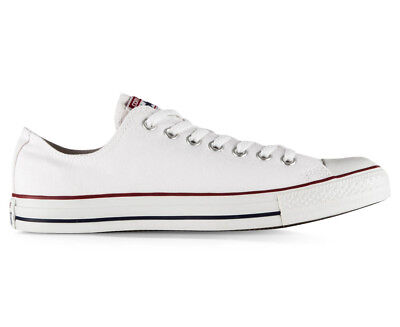 Converse Chuck Taylor Unisex All Star Lo Top Shoe - Optic White (S496)