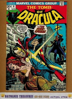 Tomb of Dracula #9 (9.2) NM- By Marv Wolfman 1973 Bronze Age Key Issue