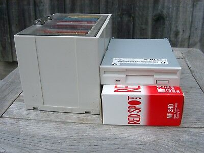 Floppy Disk 3.5 inch Drive, Disks + Disk Tidy (revised)