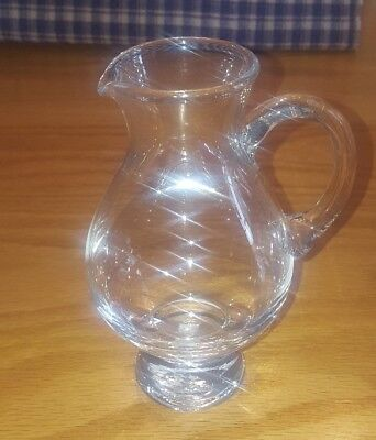 Glencairn Iona Scotch Whisky Pitcher or Mini Water Jug