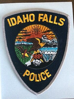 Idaho Falls Police Department Patch Idaho ID, Current Design, New, Not Used