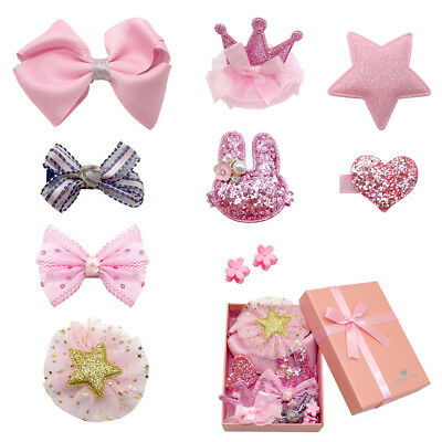 10/20/50 pcs Pink Hair Bow for Dogs Clips Puppy Grooming Accessories Cute Bows