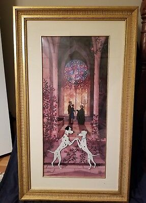 "Disney Cell ""101 Dalmatians"" Wedding Scene"