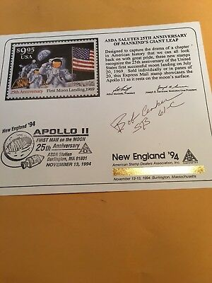 STS-61C Comm.  Cover Signed By Astronaut, Robert Cenker.