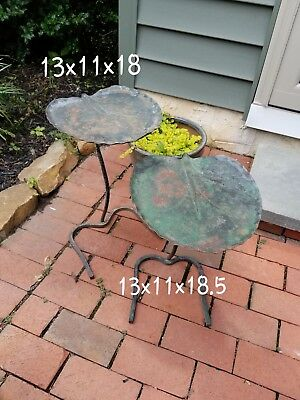 Salterini wrought iron Lilly Pad Nesting Tables