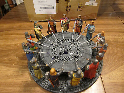 King Arthur And The Knights Of The Round Table Statue Sculpture Summit Collect