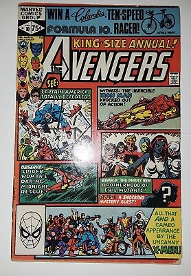 Marvel Avengers King Size Annual 10 1st appearance Rogue X-Men