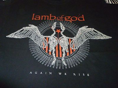 Lamb Of God Shirt ( Used Size L ) Good Condition!!!