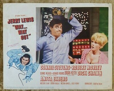 WAY... WAY OUT - 1966 Original 11x14 Lobby Card #5 JERRY LEWIS