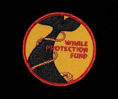 Vintage Whale Protection Fund Patch (Free Shipp[ng Possible)