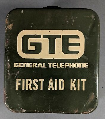 GTE General Telephone First Aid Kit