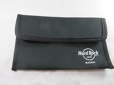 Hard Rock Cafe Pouch / Wallet / All Purpose Bag / Case Madrid  New