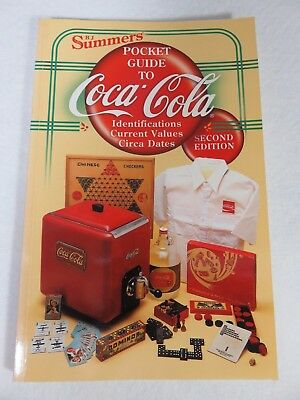 Coca-Cola Pocket Guide to COCA-COLA by B.J. SUMMERS 2nd Edition Identifications