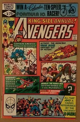 The Avengers Annual #10! NM-(9.2)! First Appearance Rogue! Clairmont! Golden!