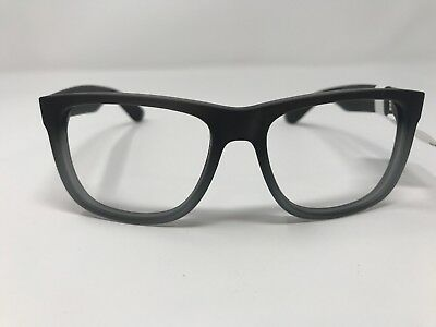 586e3d1f75 AUTHENTIC RAY BAN JUSTIN SUNGLASSES RB4165 852 88 54mm Matte Gray LL66