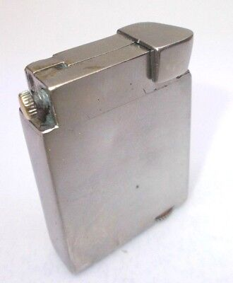 Vintage cigarette lighter petrol brass antique trench Gamma Hungary 1960s