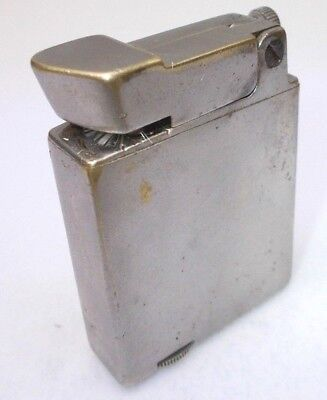 Vintage cigarette lighter petrol brass antique trench Gamma Hungary 1960s -