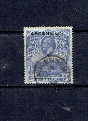 Ascension Island - 1922 Three Cent Overprint - Scott 5 - Used
