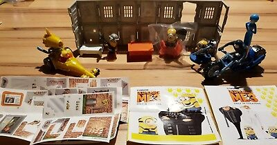 Maxi Kinder 2017, Minions 3, despicable me 3, SEB 0-4, compl. set with all Bpz