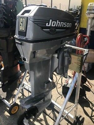 50hp Johnson Outboard Motor